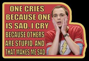 Big Bang Theory Sheldon quote custom tee