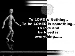 Love is Nothing .... love Quotes,image ,wallpaper for pc