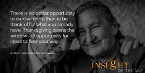 inspirational daily quote: There is no better opportunity to receive ...
