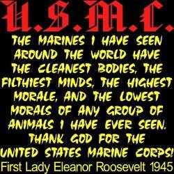 My favorite USMC quote!