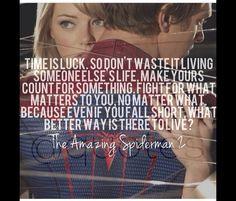 amazing spiderman 2 more the amazing spiderman quotes quotes ...