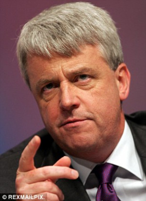 Andrew Lansley said that all hospitals should move towards eradication