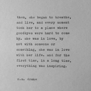 ... Rmdrake, Drake Typewriters, Drake Quote, My Life, Rm Drake, R M Drake