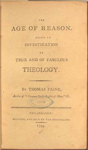 Thomas Paine Lost His Common Sense