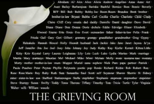 The Grieving Room: Grief Open Thread