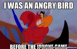 Legendary Angry Bird! – I Was An Angry Bird Before The iPhone And ...