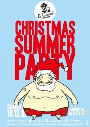 Funny santa christmas summer party quotes