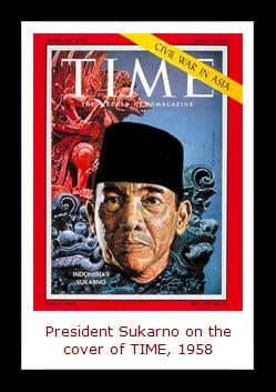 Author Koch took his title from a speech Sukarno made in 1964.