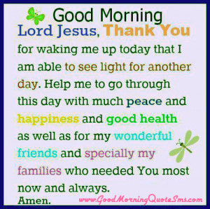 Jesus Christ Good Morning Quotes – Early Morning Wisdom Blessings ...