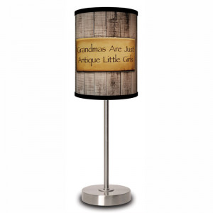 Grandma Quote Table Lamp by Lamp In A Box