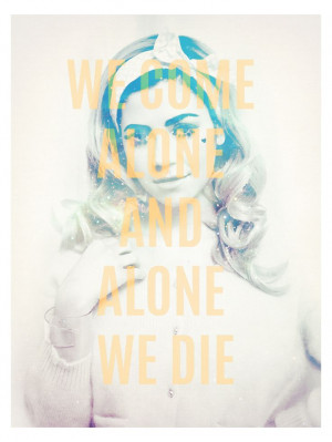 Best Marina & The Diamonds quote ever :D