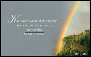 Blessed Mother Teresa quotes. Kind Words