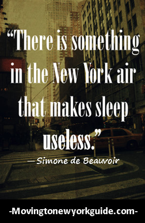 Famous Quotes About New York City