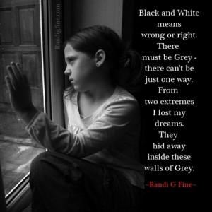 Grey - A Child Abuse Poem | Randi G. Fine | Inspirational Life Quotes ...