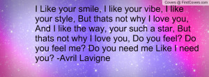 2835 Like The Way You Make Me Feel Good Love Quote