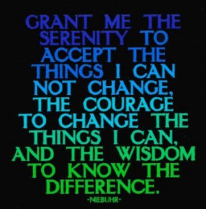 Grant Me The Serenity -