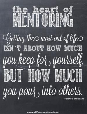 mentoring models