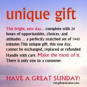 Beautiful Sunday Good Morning quotes & Sayings – this bright new day ...