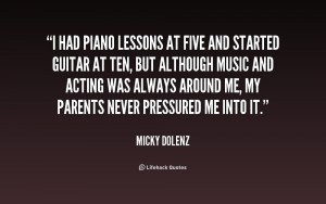 Quotes About Piano Lessons