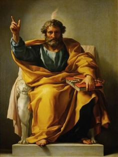Saint Peter the Apostle ~ Simon Peter or Cephas ~ The first pope ...