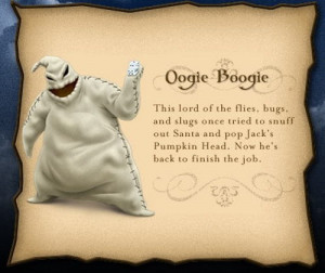 nightmare before christmas boogie man quotes