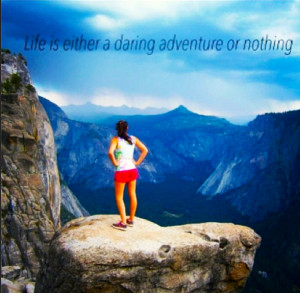 Travel Quotes: Yosemite Upper Falls Trail