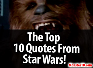Star Wars Love Quotes 10 quotes from star wars!