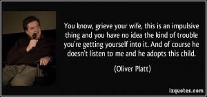 More Oliver Platt Quotes