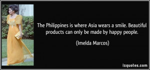 The Philippines is where Asia wears a smile. Beautiful products can ...