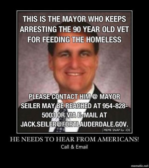 Regarding my recent letter to the Mayor of Fort Lauderdale, Jack ...