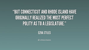 But Connecticut and Rhode Island have originally realized the most ...