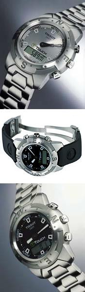 Tissot: T-Touch the touch screen watch
