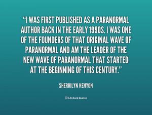 Sherrilyn Kenyon Quotes