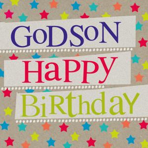 Happy Birthday Godson Sayings