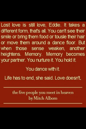 The five people you meet in heaven. So obsessed with this book ...