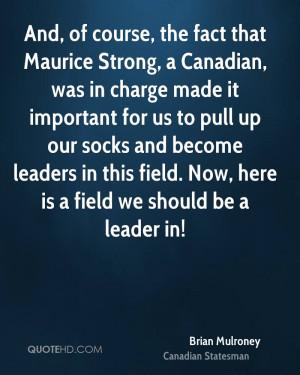 Brian Mulroney Quotes
