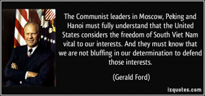 The Communist leaders in Moscow, Peking and Hanoi must fully ...