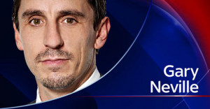 Following Hughes' post-match interview with Sky , Neville told Monday ...