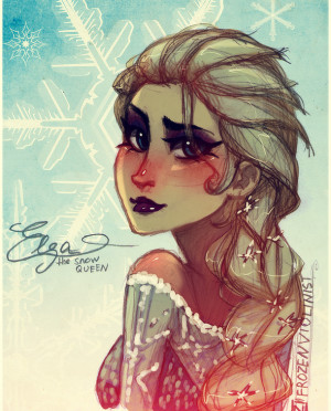 Frozen Elsa Snow Queen