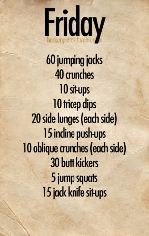 Workout Quotes For Women Tumblrfit Firm Daily Workout Plan