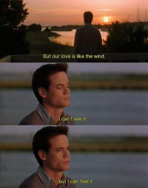 love, movie, quotes, wind