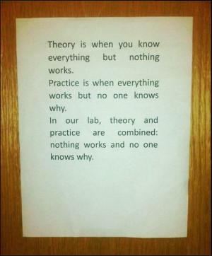 Engineering Humor Quotes http://uberhumor.com/in-an-engineering-lab