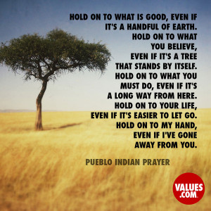 Pueblo Indian Prayer