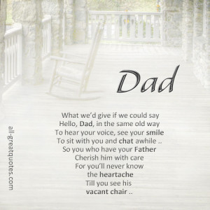 Memorial Verses For Father Dad Memorial Poems For Dad