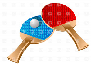 table tennis racket clipart