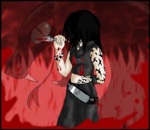 Curse Mark Anime Girl Photo