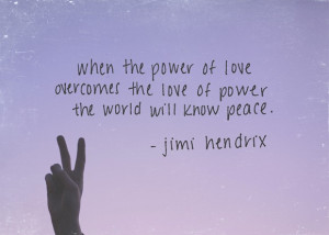 Post image for Monday Quote: The Power Of Love