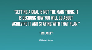 Quotes About Setting Goals