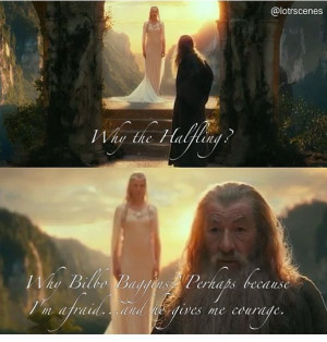 Inspirational quote from Gandalf!