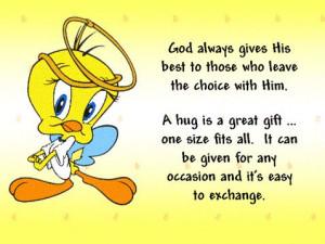 Cute Tweety Bird Sayings